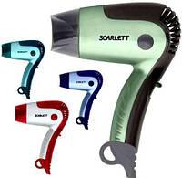 Фен Scarlett SC-079, мощность 1,4 кВт, корпус из термостойкого пластика, 2 скорости подачи воздуха