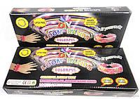 Набор для браслетов из резинок Rainbow Loom Band LB018 (100) 600шт, резинки + станок для плетения браслетов