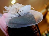 Шляпка на заколках, для невесты, для подружки.