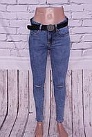 Джинсы женские с дырками на коленях Vanver ( размеры 25-30. )