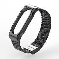 Металлический ремешок MIJOBS для фитнес-браслета Xiaomi Mi Band 2 - Black