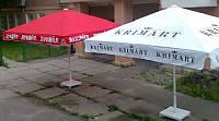 Зонт 4х4м, для кафе, бара, террасы, пляжа