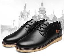 Туфли мужские черные