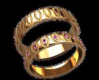 Обручальное кольцо 20030