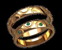 Обручальное кольцо 20029