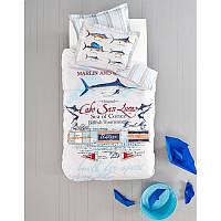 Плед - покрывало Karaca Home Black Marlin акрил жаккард 160х220см