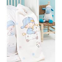 Детский плед в кроватку Karaca Home Baby Boys 2017-1 100х120см