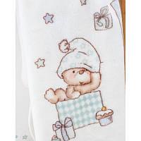 Детский плед в кроватку Karaca Home Funny Bears 2017-1 100х120см