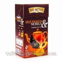 Чай черный Big-Active с персиком абрикосом, 80 гр , фото 2