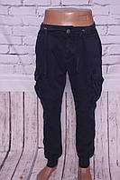Мужские джинсы-карго с накладными карманами Gallop (код 469-6)