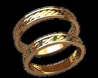 Обручальное кольцо 20026