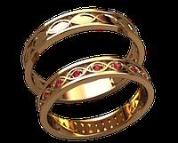 Обручальное кольцо 20024