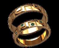 Обручальное кольцо 20021