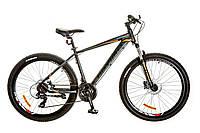"Велосипед 26"" Optimabikes F-1 AM 14G HDD рама-17"" Al черно-оранжевый (м) 2017"