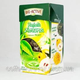 Чай зеленый Big-Active с айвой, 100 гр , фото 2