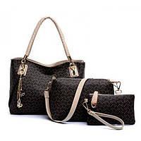 Набор женских сумок из экокожи СС7237