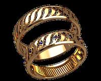 Обручальное кольцо 20017