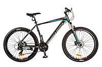 "Велосипед 26"" Optimabikes F-1 AM 14G HDD рама-19"" Al серо-синий (м) 2017"
