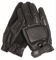 Тактические перчатки с демпферами, black. Mil-tec, Германия.