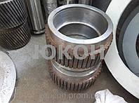 Обечайка ролика 240\75(85) Нарезная, для пресс гранулятора ГТ-500