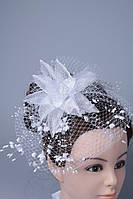 Шляпка на обруче, для невесты Лилия