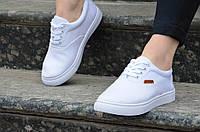 Кеды женские белые типа Vans ванс практичные, удобные 2017