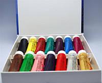 Краски акриловые для маникюра по 22 мл, 14 шт в наборе