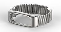 Металлический ремешок MIJOBS для фитнес-браслета Xiaomi Mi Band 2 - Silver