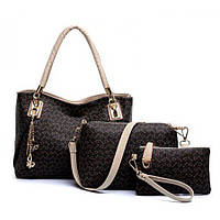 Набор женских сумок с рисунком  РМ7237