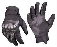 Тактические/стрелковые перчатки Gen II, black. Mil-tec, Германия.
