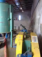 Ударно-механический пресс Wektor для производства топливных брикетов
