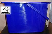 Ведро для швабры синее