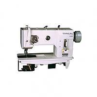 TW1-1245 Одноигольная машина челночного стежка с тройным продвижением материала