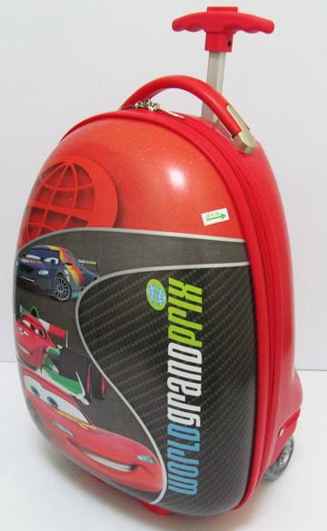 """Дитячий пластиковий чемодан """"CAR"""""""