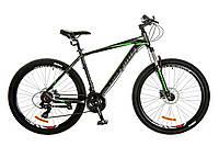 "Велосипед 27.5"" Optimabikes F-1 AM 14G HDD рама-19"" Al серо-зеленый (м) 2017"