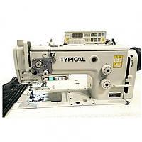 TW1-999D2T3 Одноигольная машина челночного стежка с тройным продвижением материала