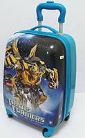 """Детский пластиковый чемодан """"Трансформер"""""""