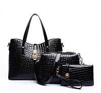 Набор лакированных женских сумок  РМ7238