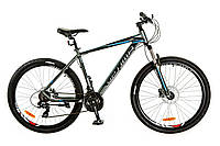 "Велосипед 27.5"" Optimabikes F-1 AM 14G HDD рама-19"" Al серо-синий (м) 2017"