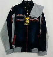 Джинсовая куртка на мальчика 146 -170