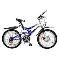 Спортивный велосипед двухподвес Profi (M2009C)