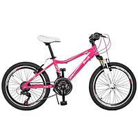 Детский спортивный велосипед для девочек Profi (GW20CARE) (А20.1)