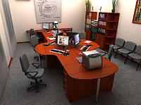 Офисная мебель для персонала БЮДЖЕТ-R6