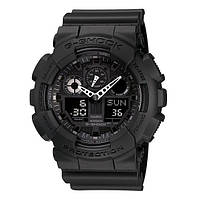 Часы Casio G-Shock GA-100-1A1 Military Series BLACK SKU0000717