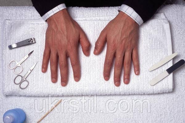 Как мужчине ухаживать за ногтями.