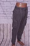 Чоловічі джинси-карго Gallop (код 469-5), фото 2