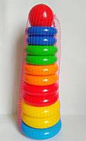 Пирамидка для малышей Высокая, развивающие игрушки для малышей