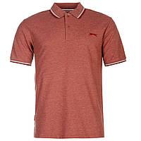 Рубашка поло футболка Slazenger Polo Burgundy Оригинал