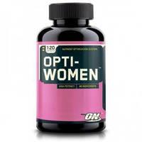 Комплекс витаминов и минералов Optimum Nutrition Opti-Women (120 капсул) для женщин