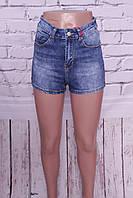 Женские джинсовые шорты американки Miss Sara с завышенной талией (код 3029), фото 1